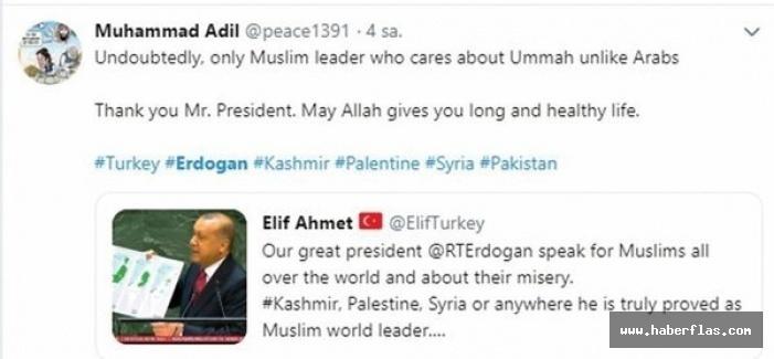 Erdoğan Birleşmiş Milletler'de mazlumların sesi oldu! Dünyadan destek yağdı.