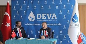 DEVA İl Başkanı Ayan'dan Büyükçekmece İlçe Başkanlığına ziyaret